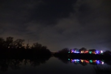 Trail of Lights and Barton Creek/River Confluence