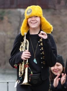 Smiling Trumpeteer