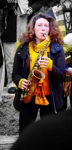 Saxophone Jam