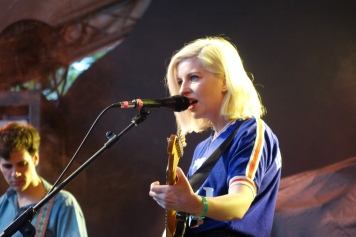 Alec O'Hanley and Molly Rankin of Alvvays