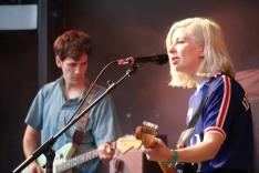 Alec O'Hanley and Molly Rankin of Alvvays